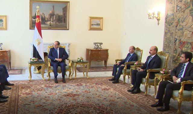 جانب من اجتماع الرئيس