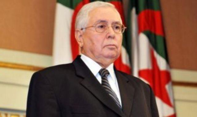 عبد القادر بن صالح الرئيس الجزائرى