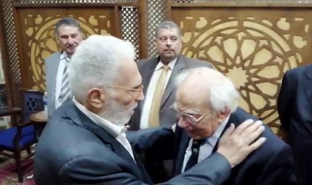 عبد الرحمن أبو زهرة ورشوان توفيق