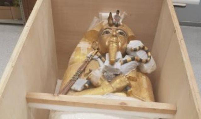 تابوت الملك توت عنخ آمون
