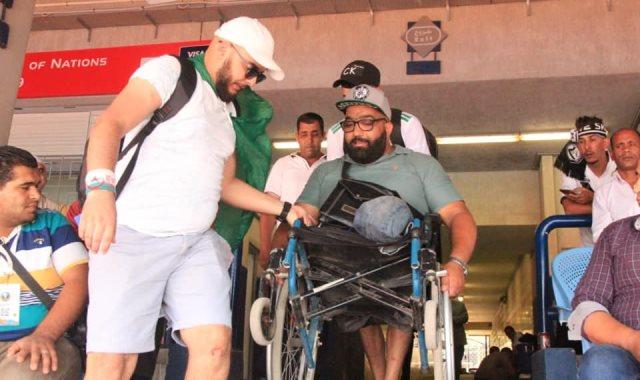 المشجع الجزائري