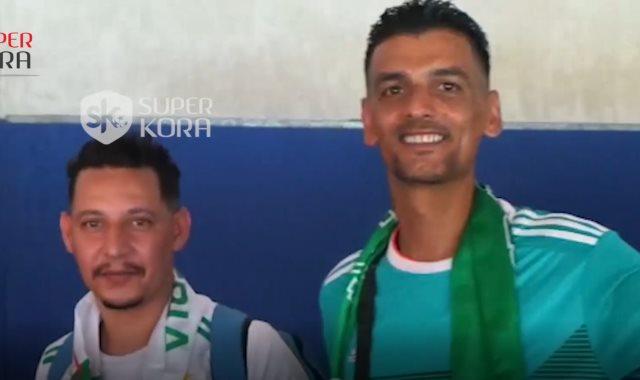 أحد مشجعي الجزائر