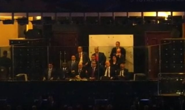رئيس وزراء مصر ورئيس الجزائر يتابعان حفل ختام أمم أفريقيا