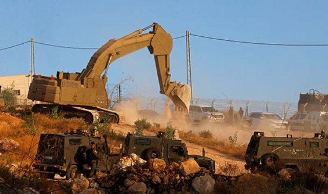"""إسرائيل تبدأ هدم المنازل فى """"صور باهر"""" الفلسطينية"""