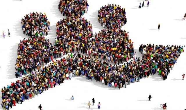 النمو السكانى