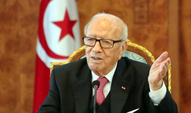 الرئيس التونسى الباجي قايد السبسي