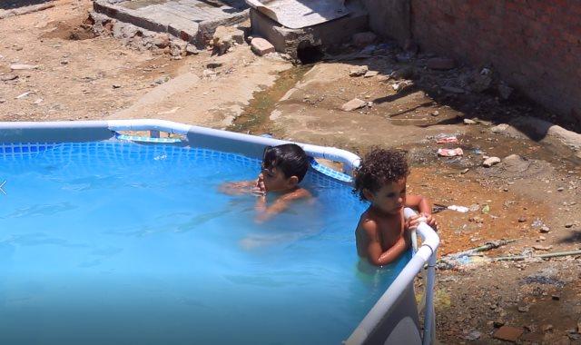 الأطفال بمنطقة الدويقة