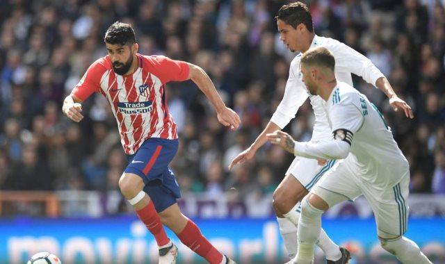 الريال ضد اتلتيكو مدريد