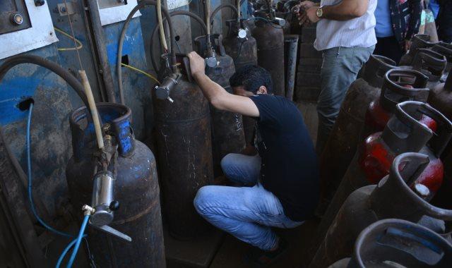 إسطوانات الغاز