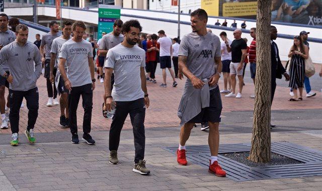 جولة حرة للاعبى ليفربول