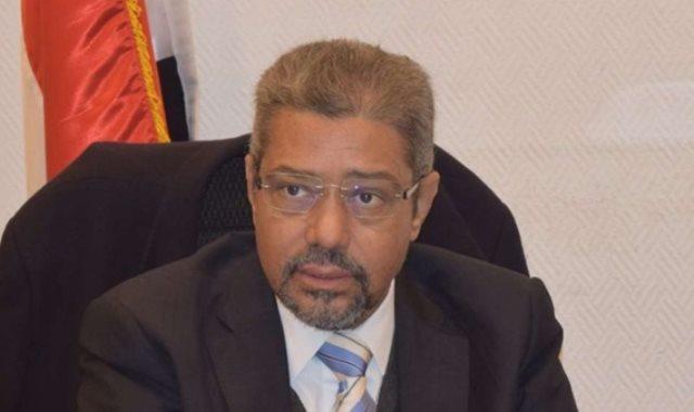 إبراهيم العربي رئيس الغرفة التجارية بالقاهرة