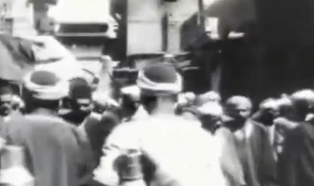 أول لقطة سينمائية في تاريخ مصر
