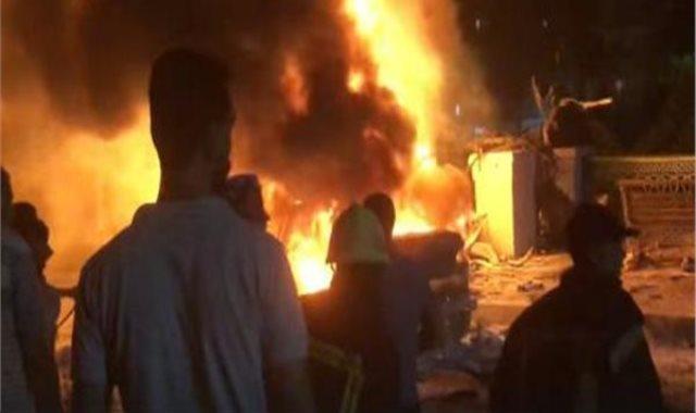 انفجار معهد الاورام