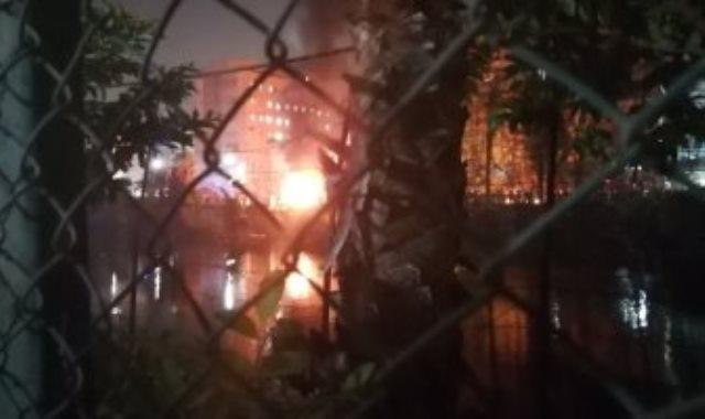 حريق معهد الاورام