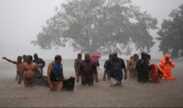فيضانات الهند _ صورة أرشيفية