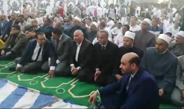 صلاة العيد في بنى سويف