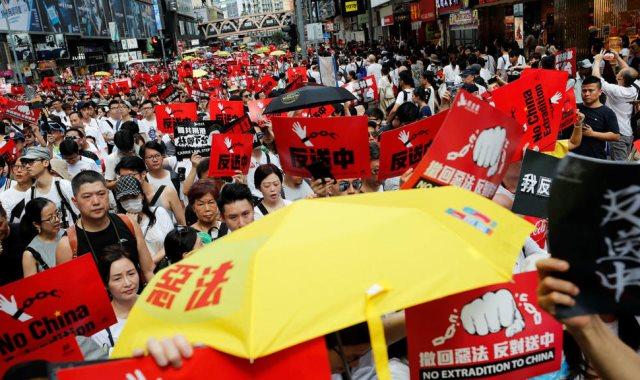 احتجاجات هونغ كونج - ارشيفية