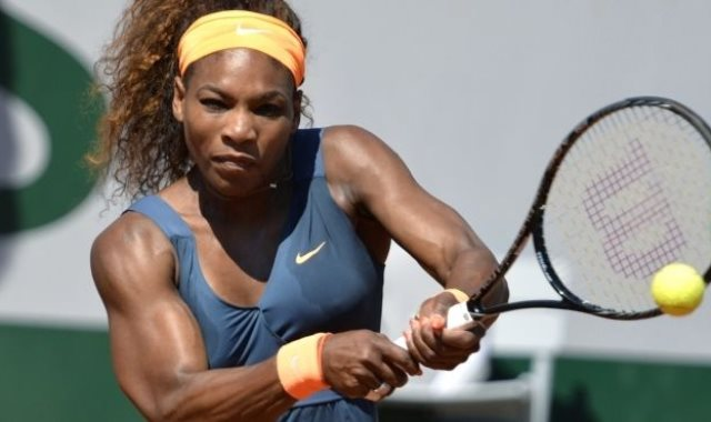 نجمة التنس الأمريكية سيرينا ويليامز