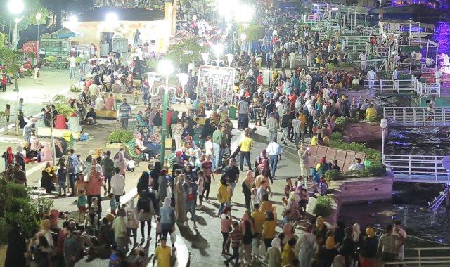 جانب من اقبال المواطنين على الكونيش