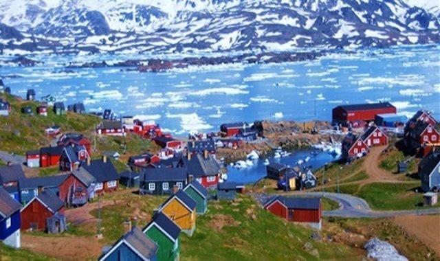 جزيرة جرينلاند فى الدنمارك