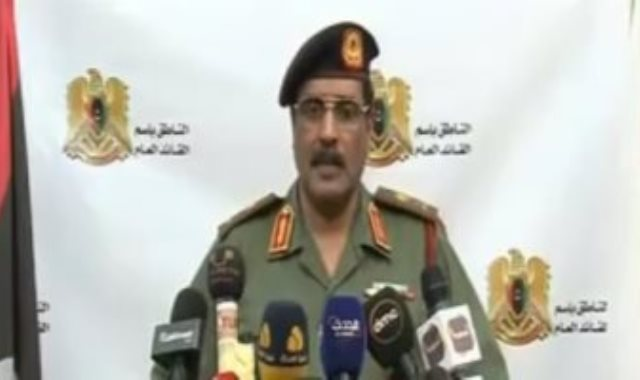 اللواء أحمد المسماري المتحدث باسم الجيش الليبي