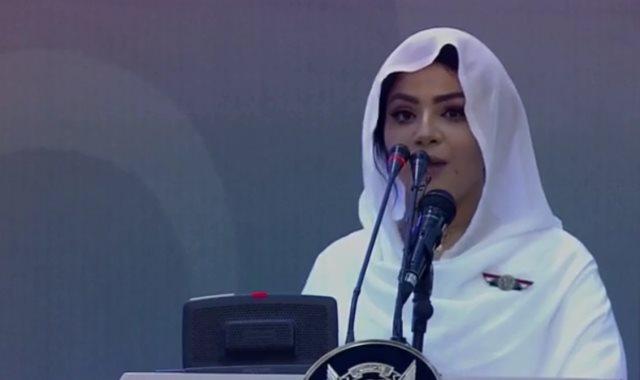المذيعة السودانية الحسناء