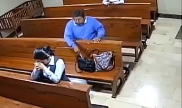 حادث سرقة داخل كنيسة بالإكوادور