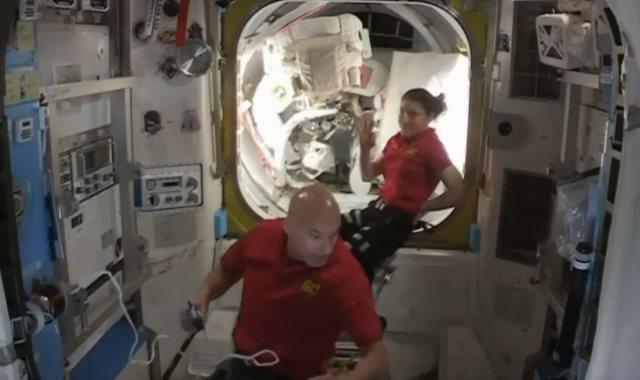 رائدا الفضاء الأمريكيان