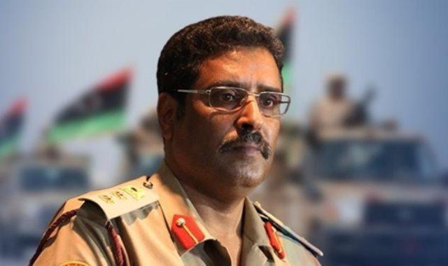 اللواء أحمد المسمارى، المتحدث الرسمى باسم الجيش الوطنى الليبى