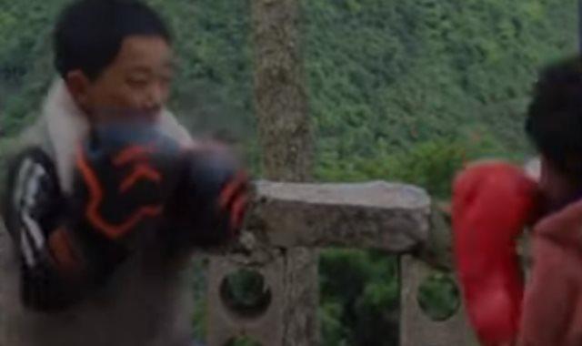 الملاكمان الصغيران الشقيقان