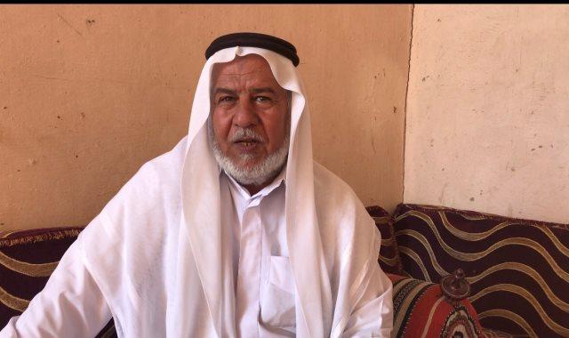 محمد أبو ضويعن الحويطى أحد مؤسسى رياضة سباقات الهجن