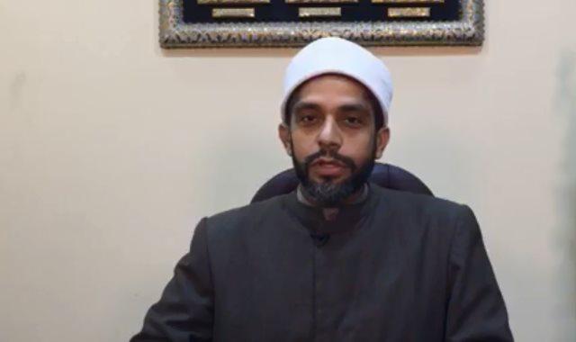 الشيخ أحمد وسام مدير إدارة البوابة الإلكترونية وأمين الفتوى بدار الإفتاء