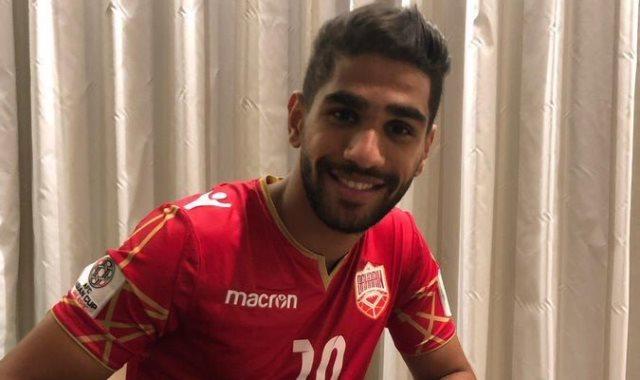 اللاعب البحريني عبد الله يوسف