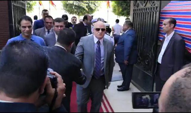 """مدير أمن القاهرة يتفقد شوادر """"كلنا واحد"""""""