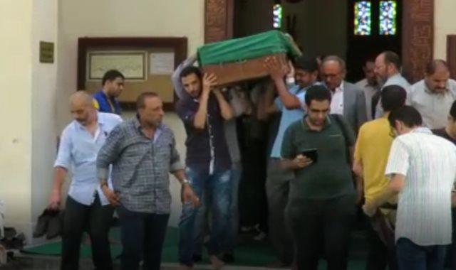 جنازة والدة أحمد نظيف