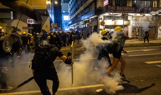 احتجاجات هونغ كونج