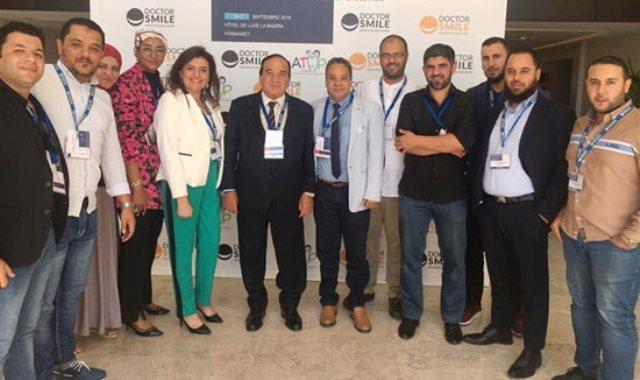 جانب من مشاركة جامعة مصر بالمؤتمر