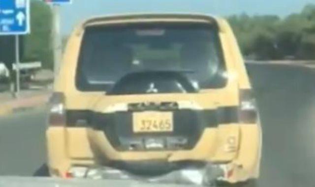سيارة تابعة للجيش الكويتي