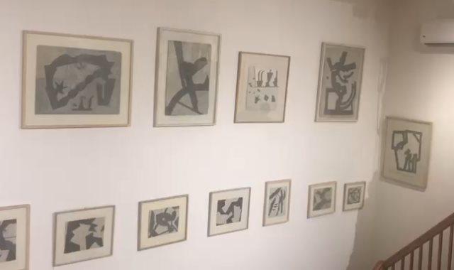 لوحات الفنان أدم حنين