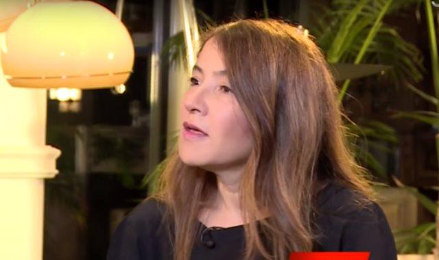 سلوى السماوي زوجة نبيل القروي المرشح في انتخابات الرئاسة التونسية