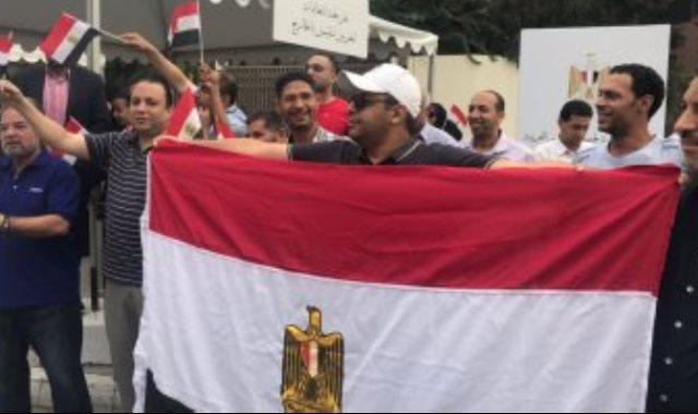 مظاهرات ترحيب سابقة بالرئيس