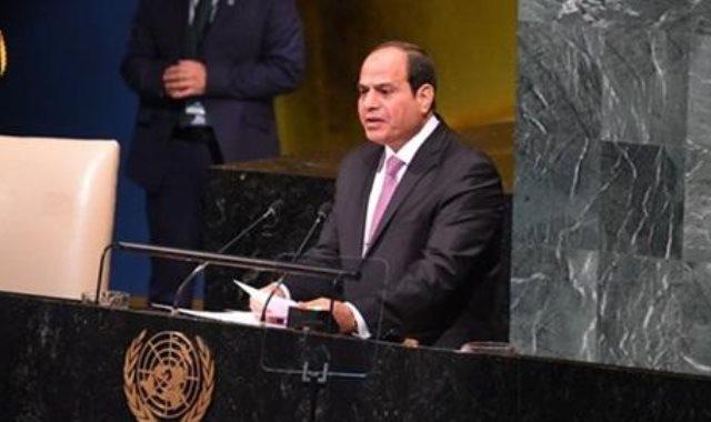 السيسى فى الامم المتحدة