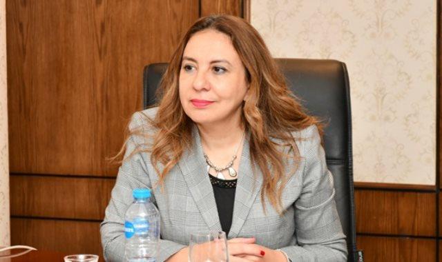 الدكتورة غادة لبيب، نائب وزير التخطيط والمتابعة للإصلاح الإدارى