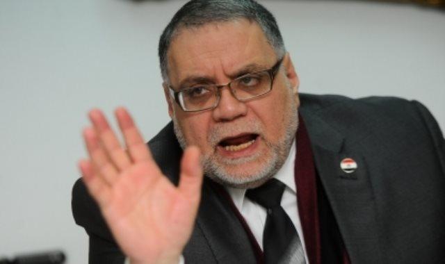 مختار نوح عضو المجلس القومى لحقوق الإنسان