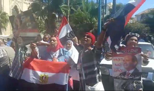 مسيرات فى حب مصر