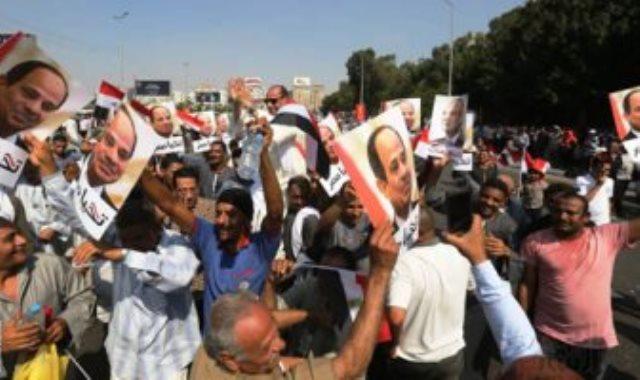 هدوء فى ميادين مصر