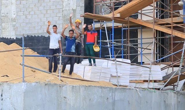 عمال العاصمة الإدارية الجديدة