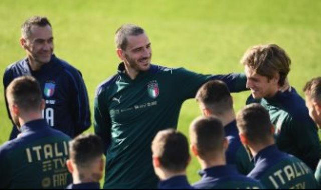 تدريبات منتخب ايطاليا