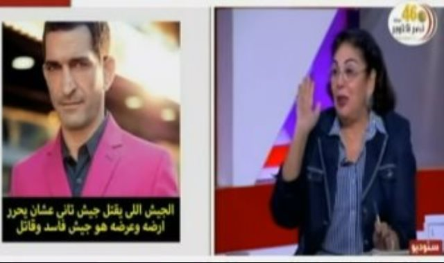 الممثل الهارب عمرو واكد
