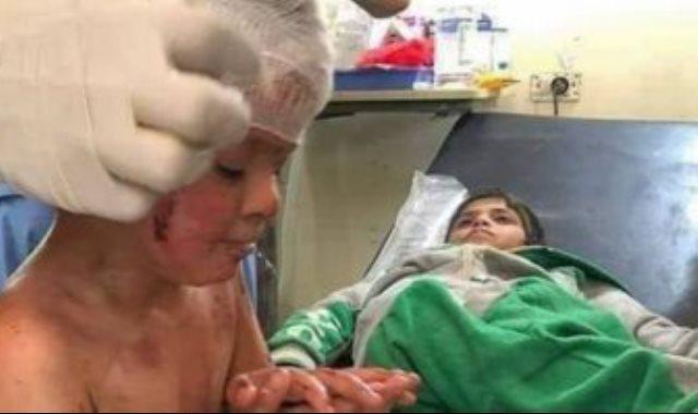 طفل سورى ضمن ضحايا العدوان التركي